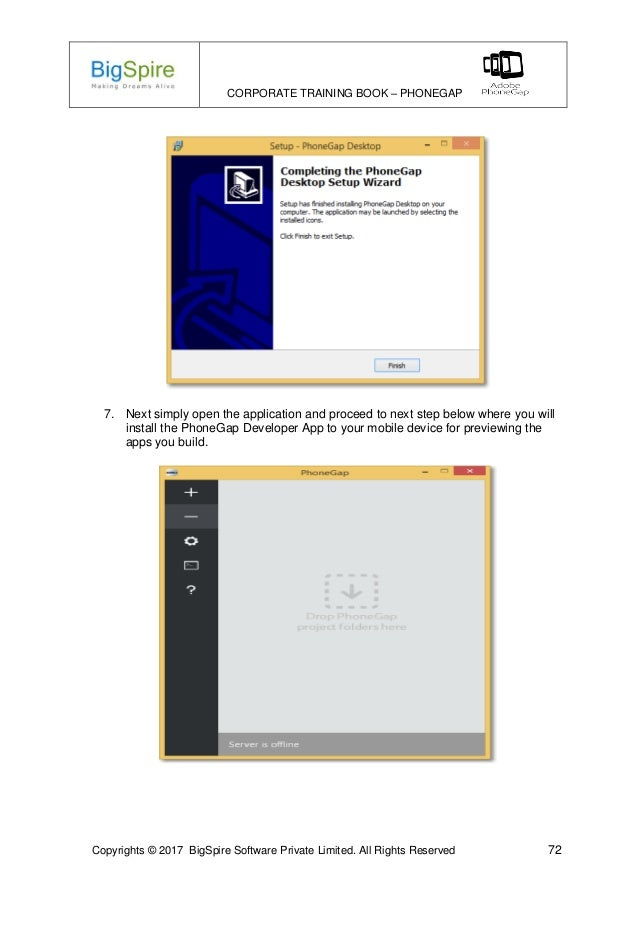 Learn Hybrid Mobile Apps Development using PhoneGap Online