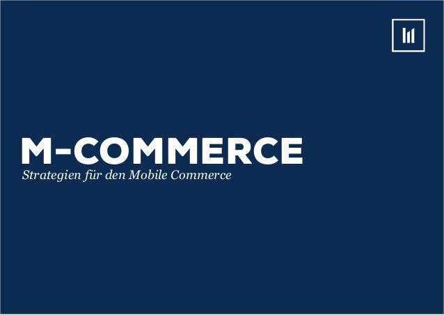 M-COMMERCEStrategien für den Mobile Commerce
