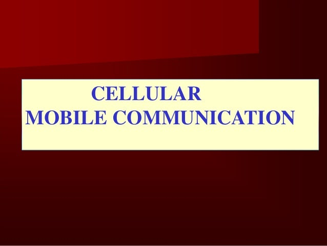 Each Base Station covers a certain area called a CELL               For Each BTS only one cell   Cell-A basic geographic u...