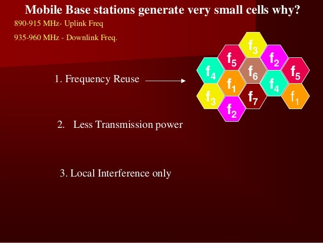 Components in Cellular System Architecture    1. Cell-A basic geographic unit of a cellular system     2. Cluster(Cell Sit...