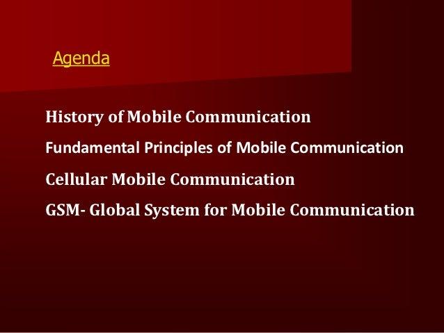 HistoryofMobile Communication