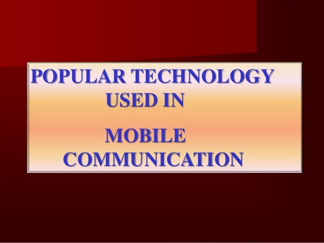 GSM - Group speciale Mobile    Global system for Mobile Communication    2nd Generation system    Formed in 1982    In...