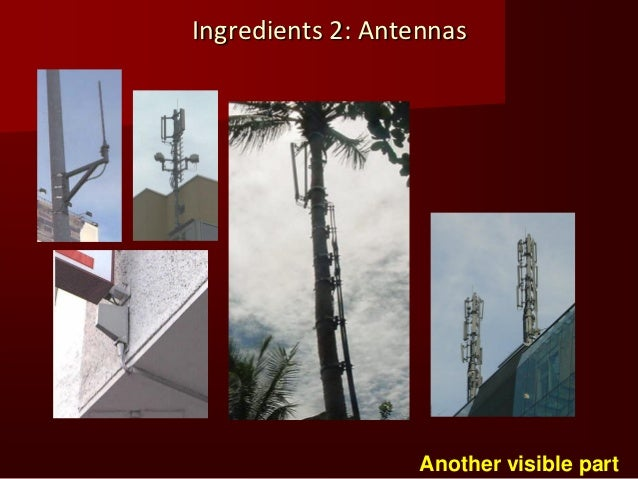 """Ingredients 3: Infrastructure 2                                                Not """"visible"""", but                         ..."""