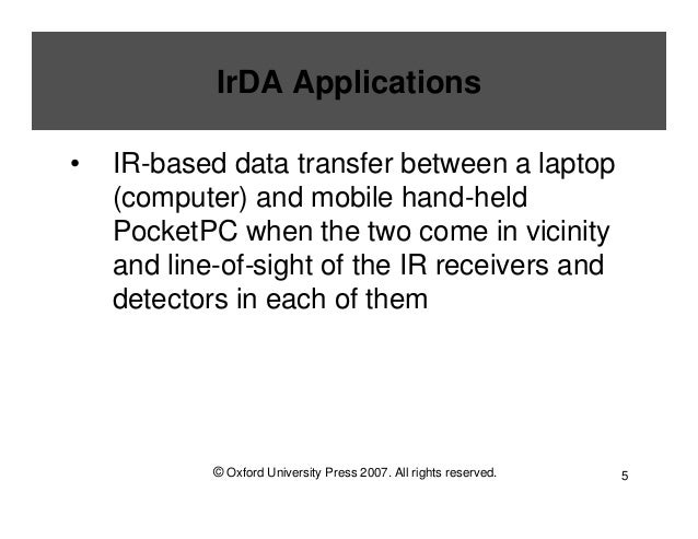 irda infrared data association  irda