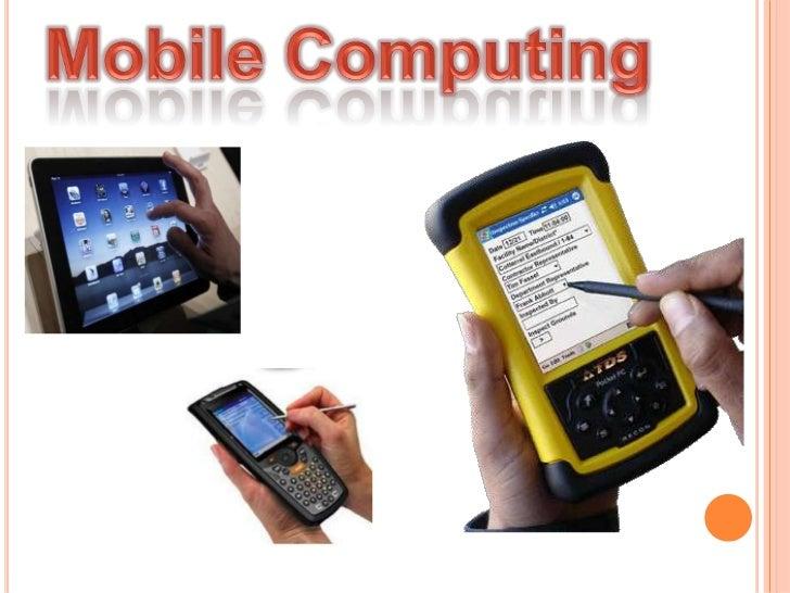 Mobile Computing<br />