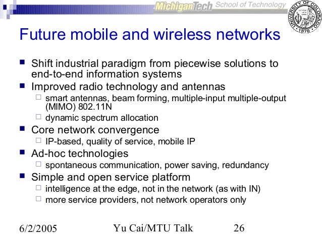Past, Present and Future of Mobile Computing