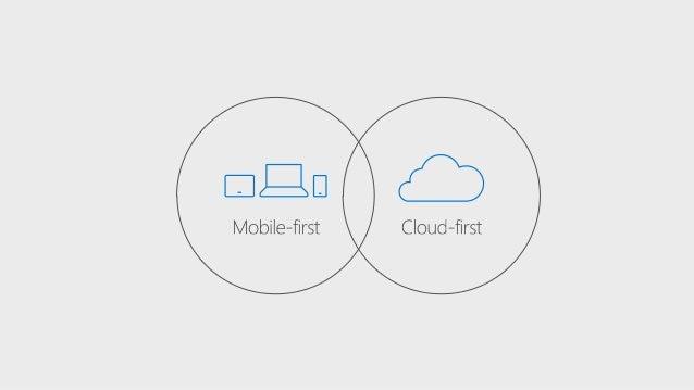 Mobile-first, Cloud-first のその先へ ~ Microsoft が描く Web/Mobile の未来