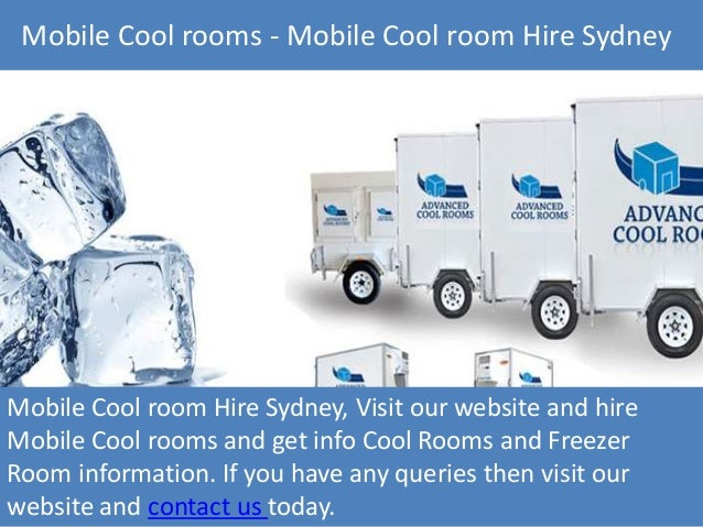 Mobile Cool Rooms Sydney