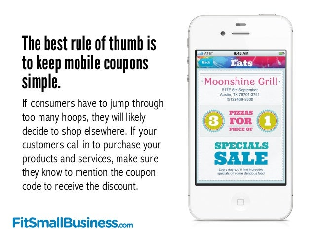 The mobility marketplace coupons