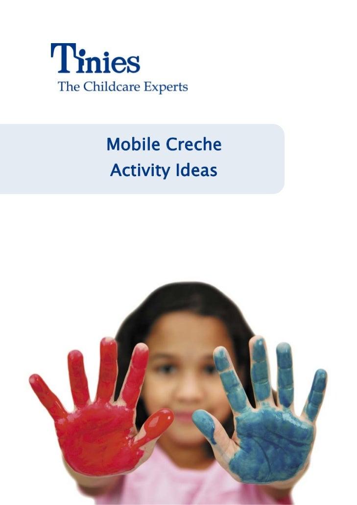 Mobile CrecheActivity Ideas