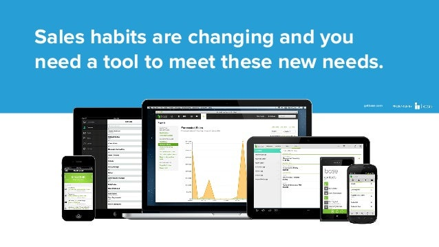 Sales habits are changing and you need a tool to meet these new needs. getbase.com