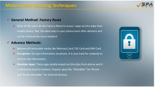 How to ensure your mobile data is secured