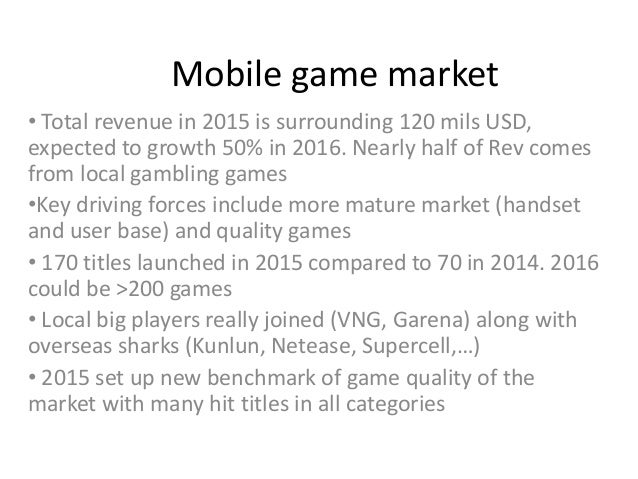 Vietnam mobile market 2015- 2016 (Revenue, trends, UA) Slide 3
