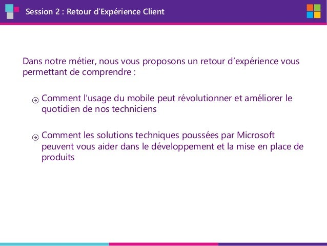 MobileDay - Session 2 REX IDEX Slide 3