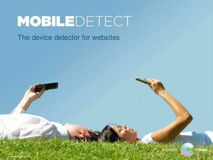 The device detector for websitesmobiledetect.creuna.com