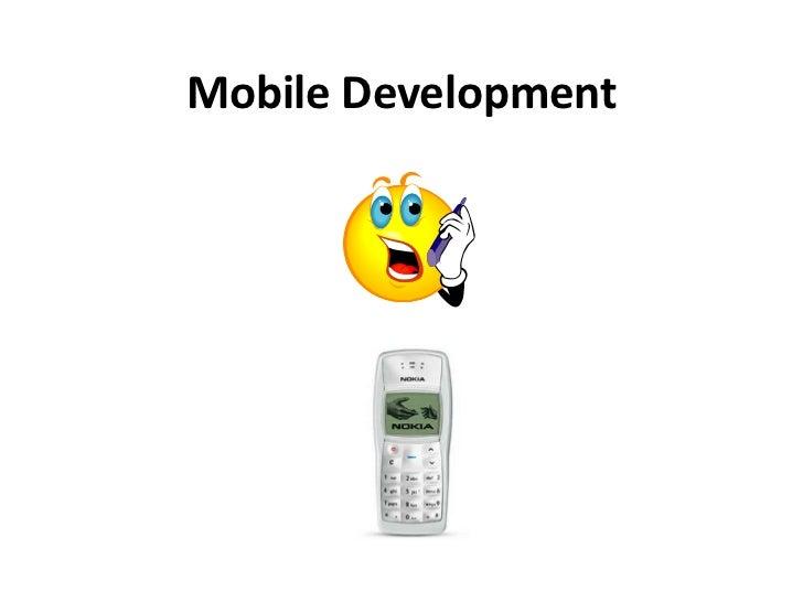 Mobile Development<br />