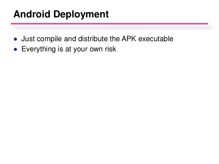 Mobile Development Architecture Ppt with Slides, Book Notes