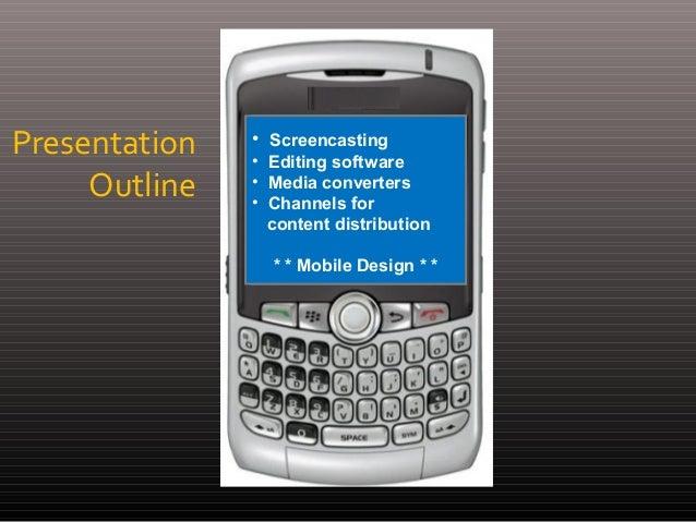 Web & Apps Design for Mobile Devices Slide 2