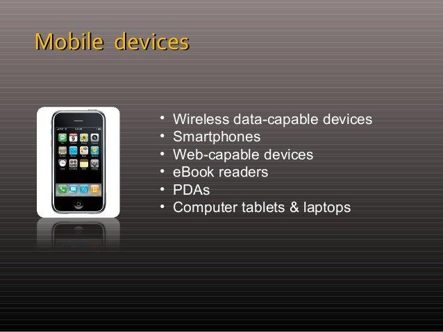 Web & Apps Design for Mobile Devices Slide 3