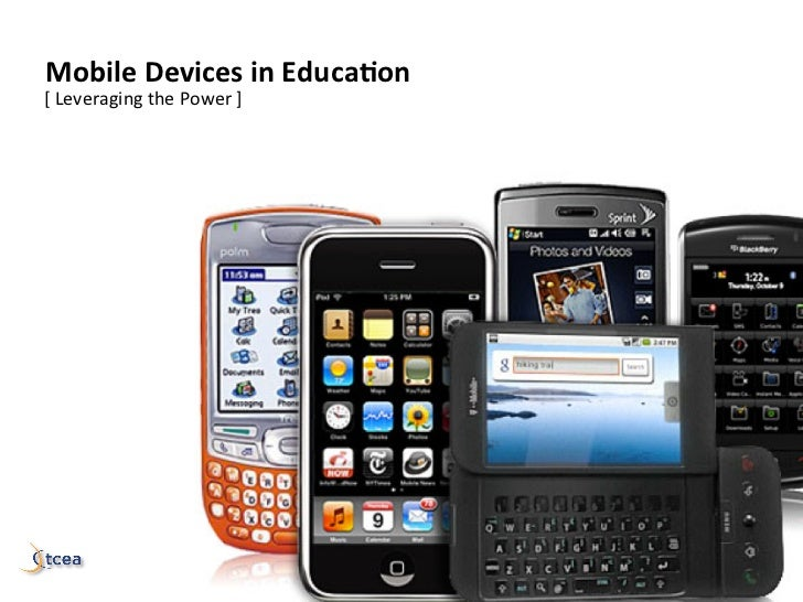 mastering	  Mobile	  Devices	  in	  Educa1on	  [	  Leveraging	  the	  Power	  ]	                           in	  educa)on