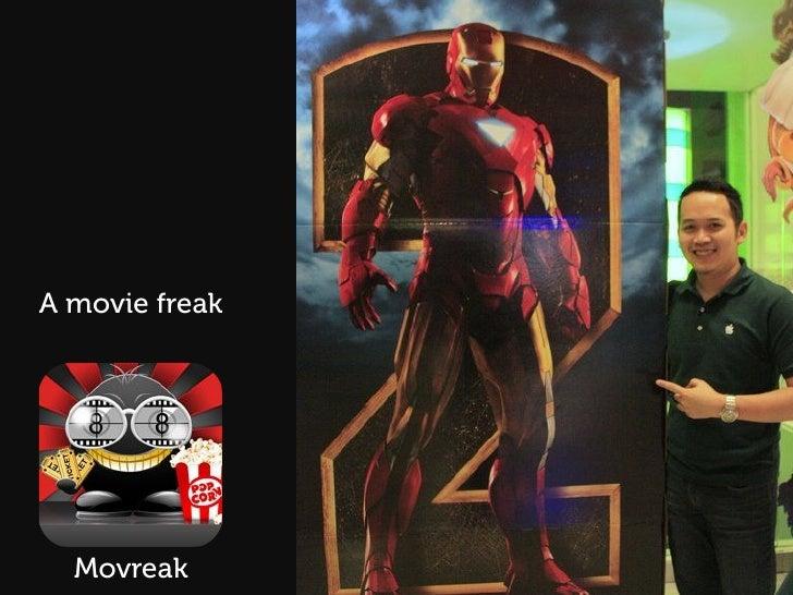 A movie freak  Movreak
