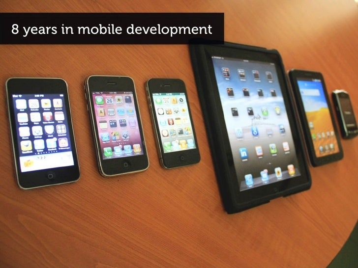 8 years in mobile development