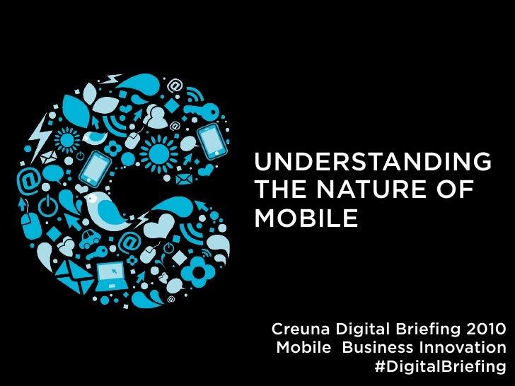 Att förstå mobilens natur
