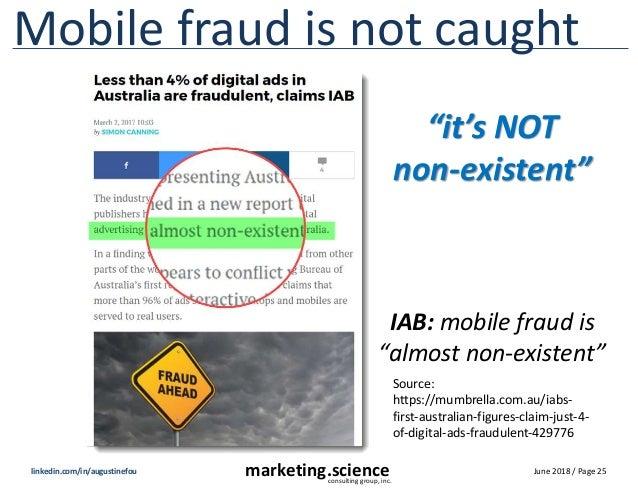 Mobile display fraud is rampant beyond belief