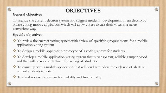 mobile voting system essay Recount of ballot papers polled also due to discrepancies these processes are often lengthy, tedious, inaccurate, and e-voting system using gsm mobile sms.