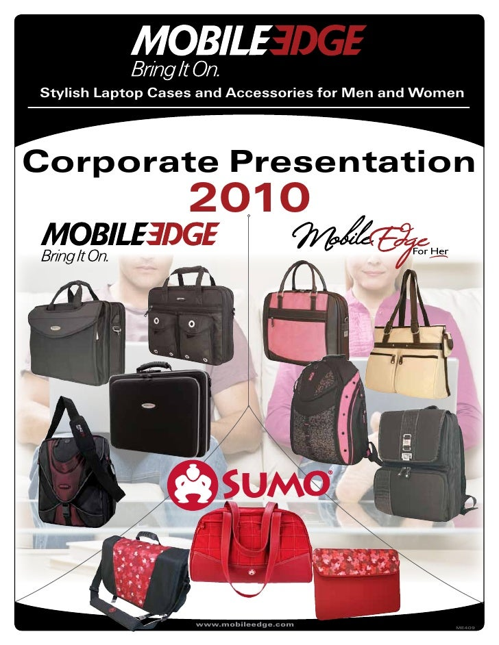 Stylish Laptop Cases and Accessories for Men and Women     Corporate Presentation                   2010                  ...