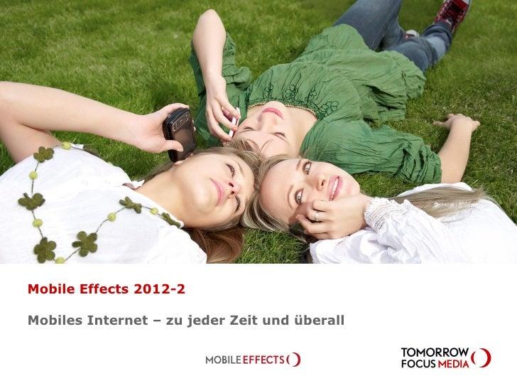 Mobile Effects 2012-2Mobiles Internet – zu jeder Zeit und überall