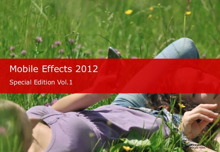 Mobile Effects 2012Special Edition Vol.1