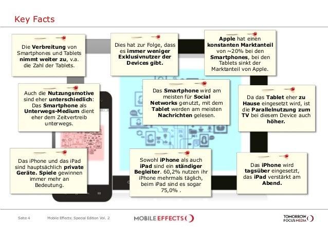 Key Facts Seite 4 Mobile Effects: Special Edition Vol. 2 Apple hat einen konstanten Marktanteil von ~20% bei den Smartphon...