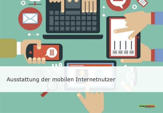 Ausstattung der mobilen Internetnutzer