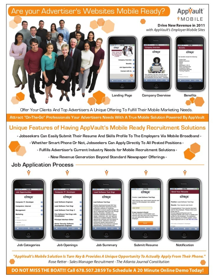 Are your Advertisers Websites Mobile Ready?                                                                               ...