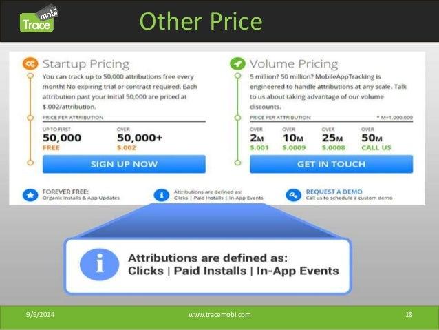 Other Price  9/9/2014 www.tracemobi.com 18