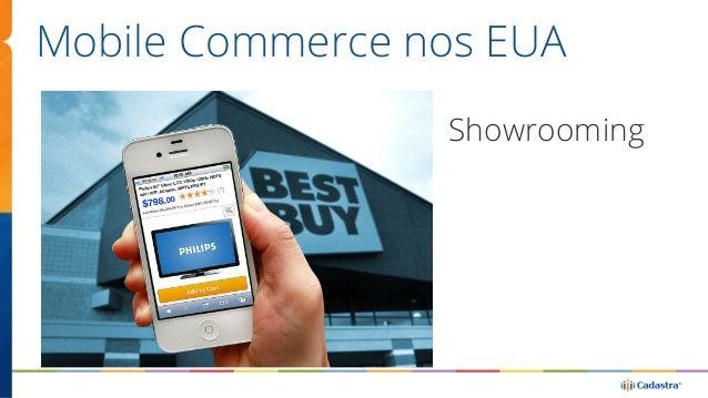 Mobile Commerce nos EUA  Showrooming