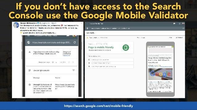#mobilefirstchecklist at #smxlondon by @aleyda from @orainti#mobilefirstseo at #wceu by @aleyda from @orainti#winningmobilefi...