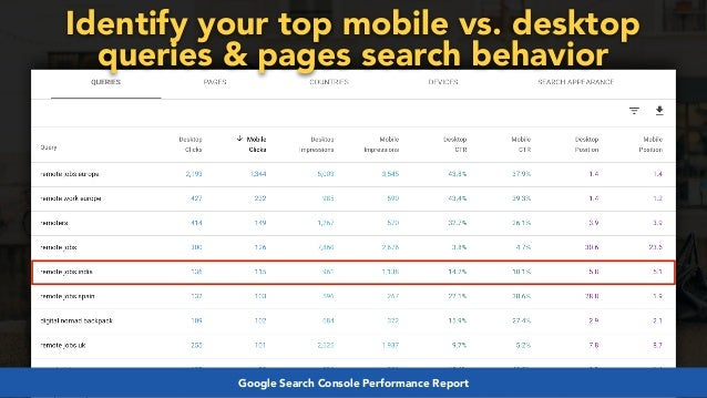 #mobilefirstchecklist at #smxlondon by @aleyda from @orainti#mobilefirstseo at #wceu by @aleyda from @oraintiGoogle Search C...
