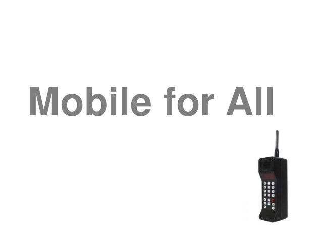 Mobile for All
