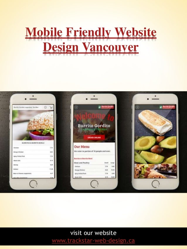 Mobile friendly website design vancouver