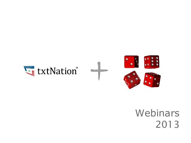 Webinars2013