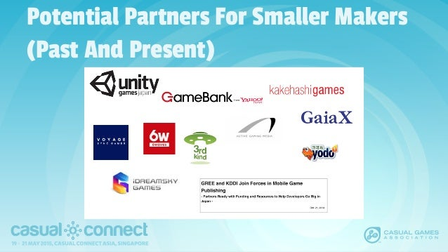 Potential Partners For Smaller Makers (Past And Present)