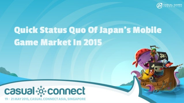 Quick Status Quo Of Japan's Mobile Game Market In 2015