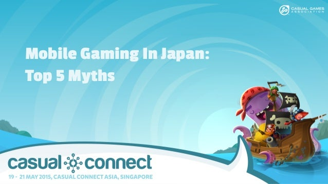 Mobile Gaming In Japan: Top 5 Myths