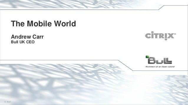 The Mobile World Andrew Carr Bull UK CEO