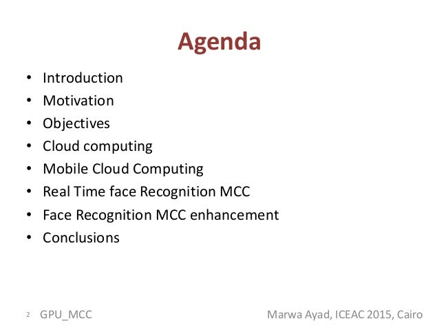 Mobile gpu cloud computing  Slide 2