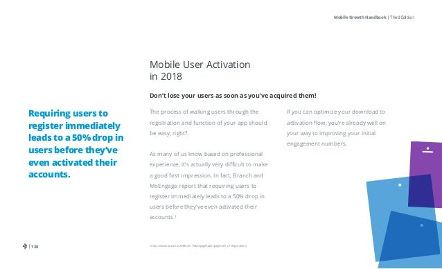 The 2018 Mobile Growth Handbook: 100+ Mobile Marketing