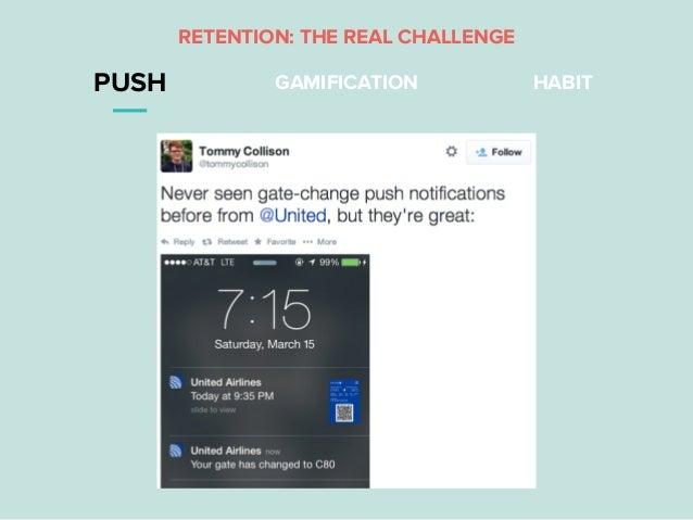 PUSH GAMIFICATION HABIT RETENTION: THE REAL CHALLENGE