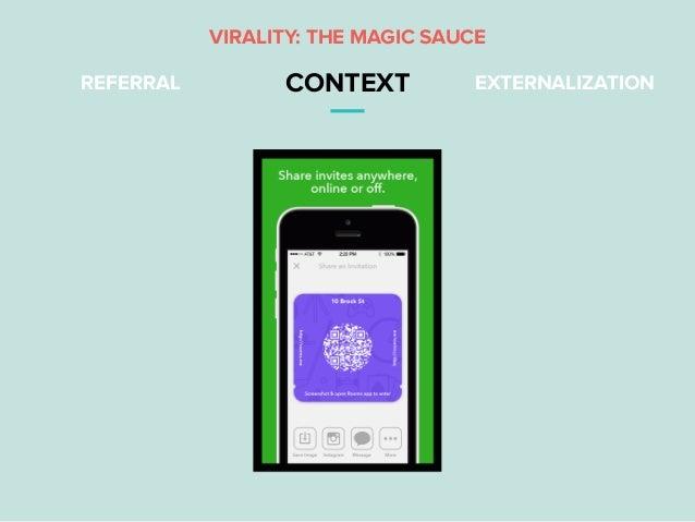 REFERRAL CONTEXT EXTERNALIZATION VIRALITY: THE MAGIC SAUCE
